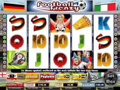 Play Football Frenzy Slots now!