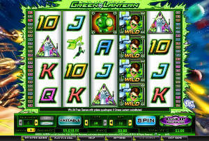 Play Green Lantern Slots now!