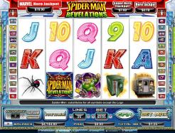 Play Spiderman Revelations Slots now!