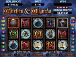 Witches & Wizards Slots