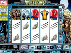 Wolverine Action Stacks Slots