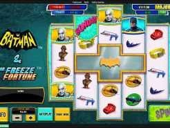 Batman and Mr Freeze Fortune Slots