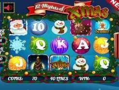 12 Nights of Xmas Slots