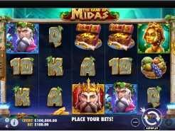 The Hand of Midas Slots