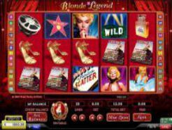 Blonde Legend Slots